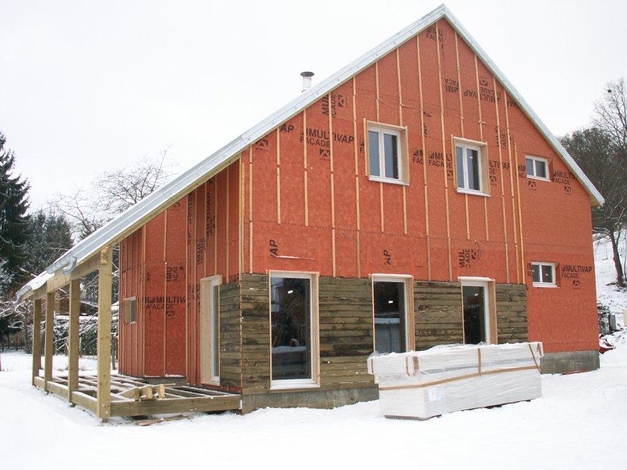 maison bois 224 amance vermont maisons ossature bois 224 basse consommation en haute sa 244 ne