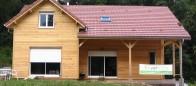 Maison bois à Luxeuil les Bains