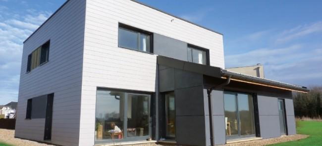 Maison offemont vermont maisons ossature bois basse consommation en haute sa ne franche for Construction bois en franche comte