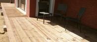 Terrasse bois à Héricourt
